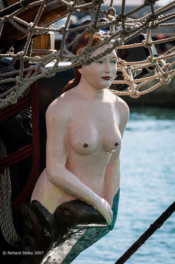 figurehead,pandora,tall ship,tall ships race, alicante,sea fever