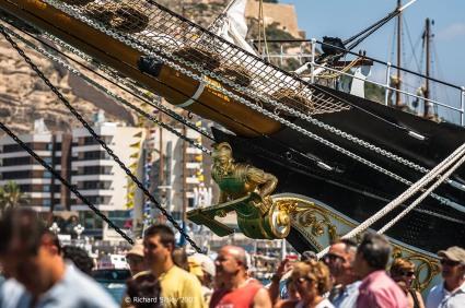 figurehead,Palinuro. tall ships, tall ships regatta, Alicante,sea fever