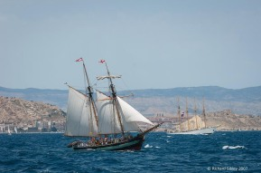 pandora,creoula,tall ship,tall ships race, alicante,sea fever