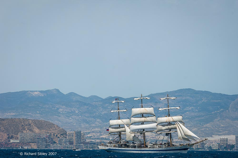 mir. tall ships, tall ships regatta, Alicante,sea fever
