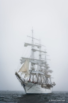 Christian Radich, 50th Anniversary Tall Ships Race. Torbay 2006
