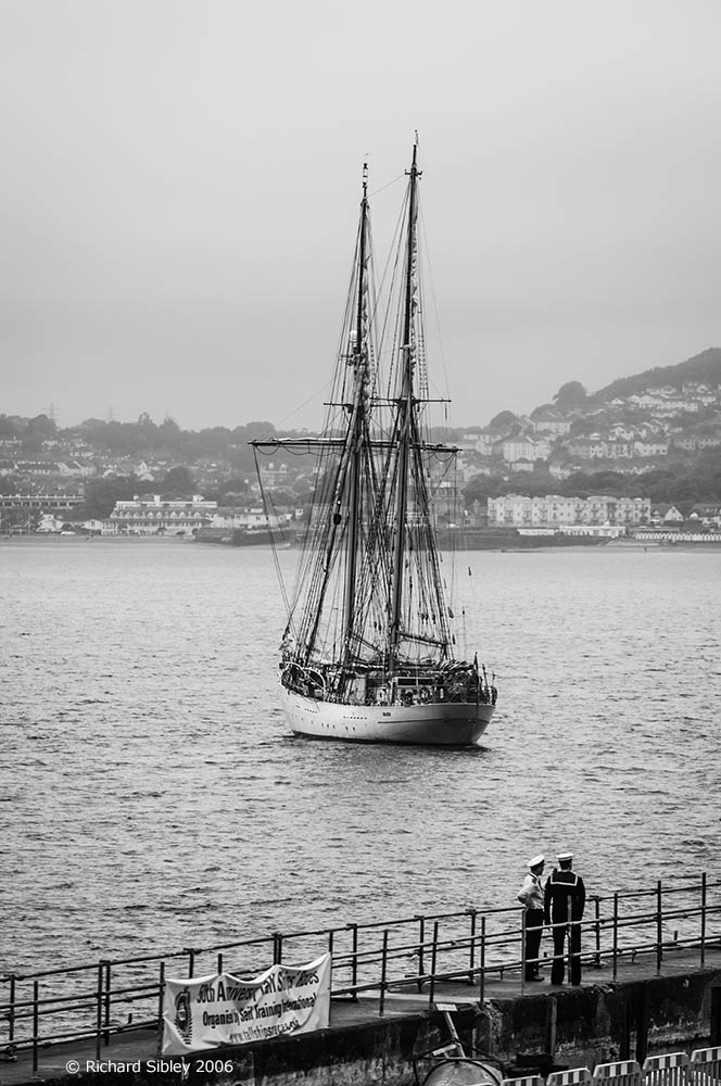 Falken,50th Anniversary Tall Ships Race,Torbay 2006