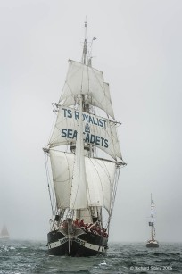 TSR Royalist, 50th Anniversary Tall Ships Race Torbay