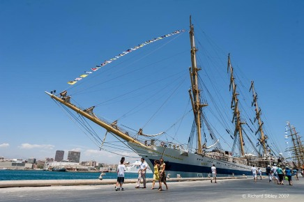 mir. tall ships, tall ships regatta, Alicante,sea fever