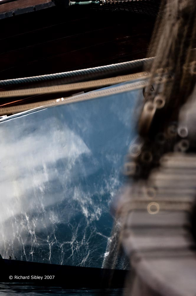 abstract,reflections,tall ship,tall ships race, alicante,sea fever