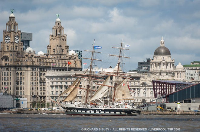 Liverpool Tall Ships Race 2008