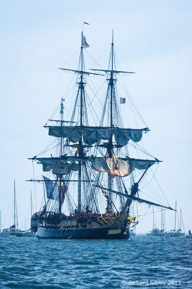 Historic Ship;Fregate;Hermione; La Fayette