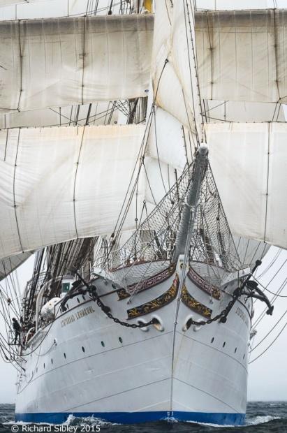 Statsraad Lehmkuhl,Belfast tall ships race 2015,photos of tall ships
