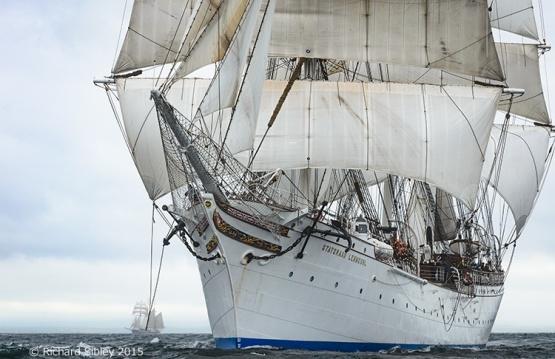 Statsraad Lehmkuhl,Belfast tall ships race 2015,brig,photos of tall ships, Belfast