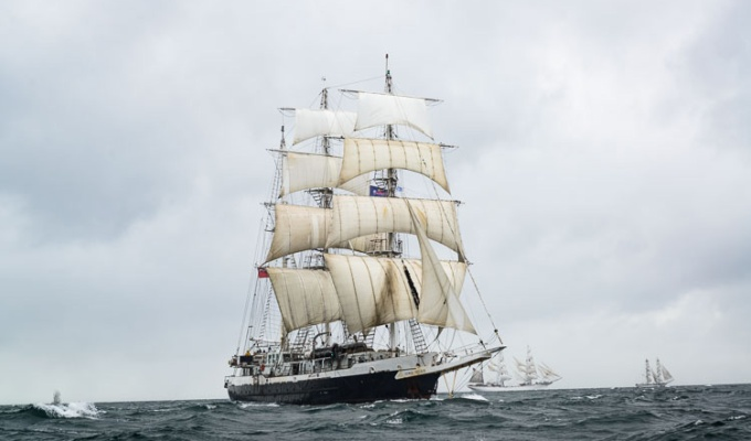 Lord Nelson – Tall Ships Belfast 2015