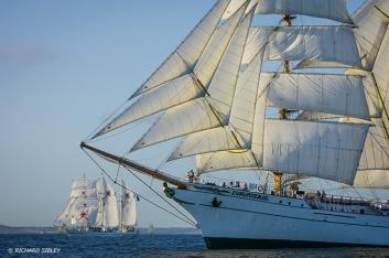 Cuauhtemoc,Shabab Oman,Tall Ships,Funchal 500, Falmouth,