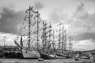 Cuauhtemoc,Alexander von Humboldt,Pogoria,Tall Ships,Funchal 500, Falmouth,