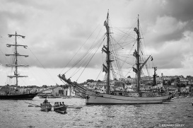 Astrid,Cornish Rowing Gigs,Tall Ships,Funchal 500, Falmouth,