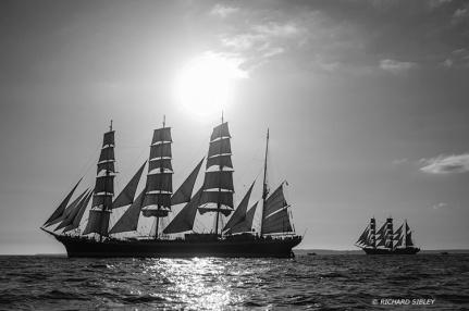Sedov,Cuauhtemoc,Tall Ships,Funchal 500, Falmouth,