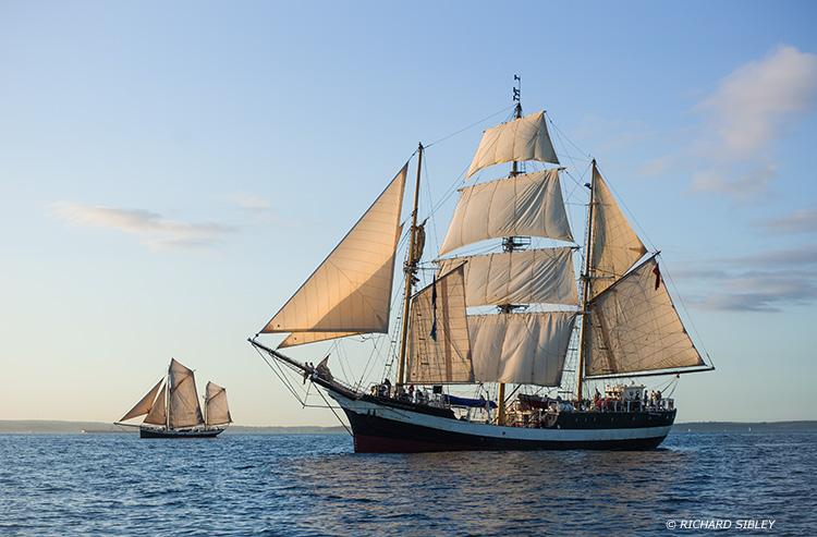 Pelican of London,Tecla,Tall Ships,Funchal 500, Falmouth,