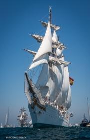 Juan Sebastian de Elcano,Cadiz,Topsail Schooner,