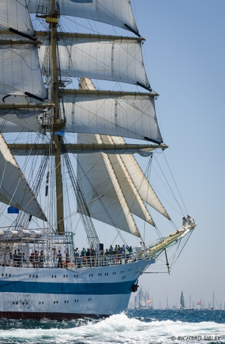 MIR, Cadiz,Full Rigged Ship