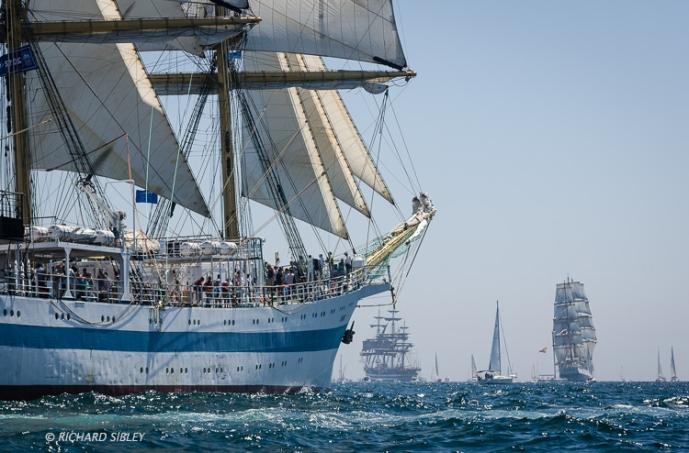 MIR, Cadiz,Full Rigged Ship