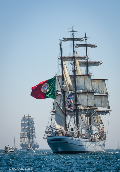 NRP Sagres, Barque, Portugal