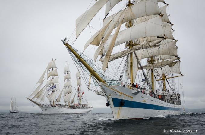 Tall Ships Race,Lerwick,MIR,Dar Mlodziezy,eendracht