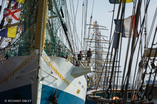 Russian Full Rigger, Mir. Antwerp Tall Ships Race 2010