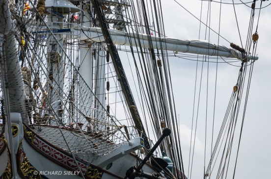 Statsraad Lehmkuhl. Antwerp Tall Ships Race 2010