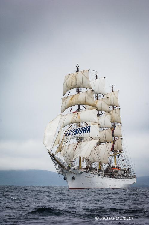 Dar Mlodziezy,Tall Ships Race,Lerwick,
