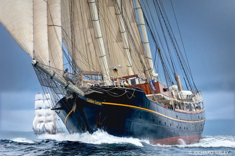 Tall Ships Race,Lerwick,Gulden Leeuw