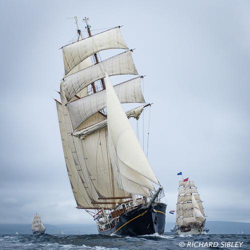 Gulden Leeuw,Tall Ships Race,Lerwick,