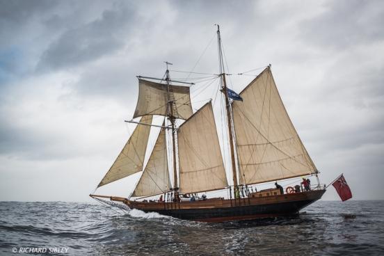 British Topsail Schooner 'Joanna Lucretia'