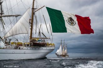 Mexican Full Rigger 'Cuauhtemoc' and Polish Schooner 'Zawisza Czarny'