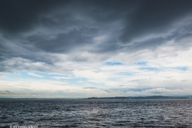 The extreme weather conditions forecast for the Bay of Biscay bring on some interesting cloud and seascapes