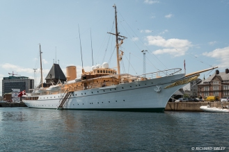 Danish Royal Yacht, Dannebrog.