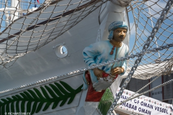 Figurehead on the Omani Barquentine Shabab Oman