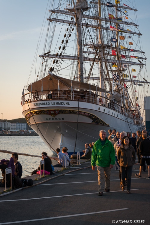 Norwegian Barque Statsraad Lehmkuhl