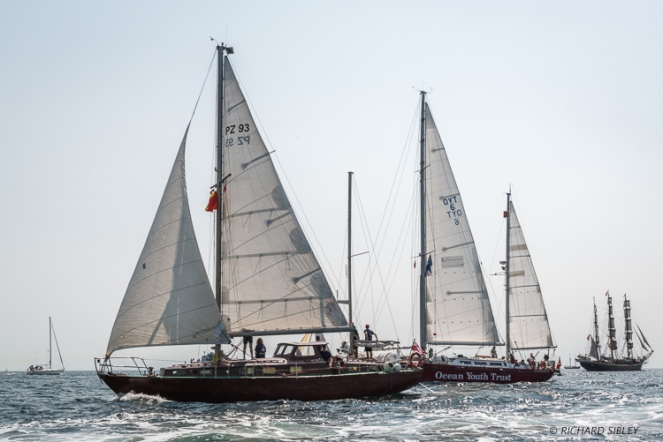 Polish Ketch Legia, John Laing, Great Britain and Georg Stage Denmark