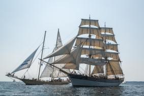 Schooner, Helena, Finland and Swedish Brig Trekronor