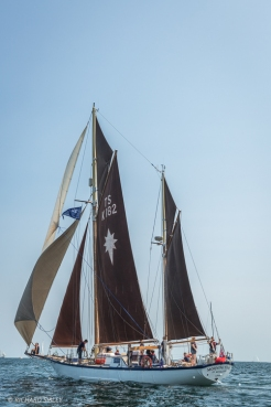 Gaff Ketch, Morning Star. Great Britain