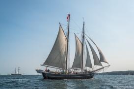 Gaff Schooner, Martha. Denmark