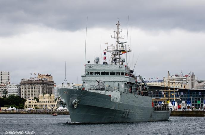 Spanish naval vessel 'Atalaya'