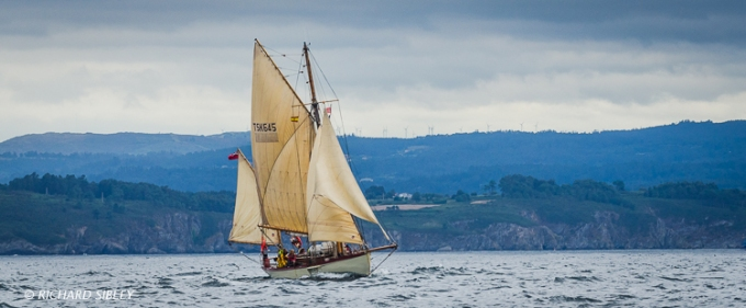 British Yawl 'Moosk'