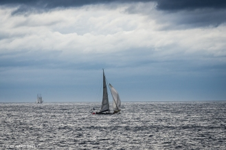 Bermudan Sloop 'Tomidi' Belgium and Polish Schooner Zawisza Czarny