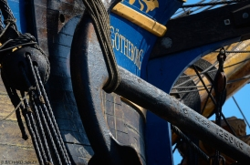 1250kg Anchor on The Swedish Ship Gotheborg