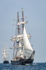 British Barque Tenacious and German Brig Roald Amundsen