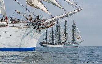 Statsraad Lehmkuhl, Christian Radich and MIR