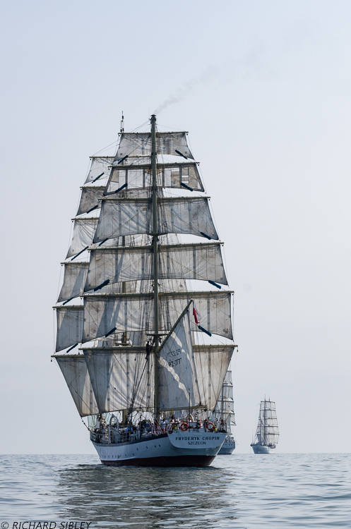 Polish Brig Fryderyk Chopin, MIR and Cuauhtemoc