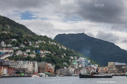 Bergen, after the ships have gone