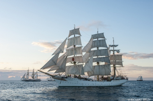 Lord nelson, Morgenster, Sorlandet and Asgard II