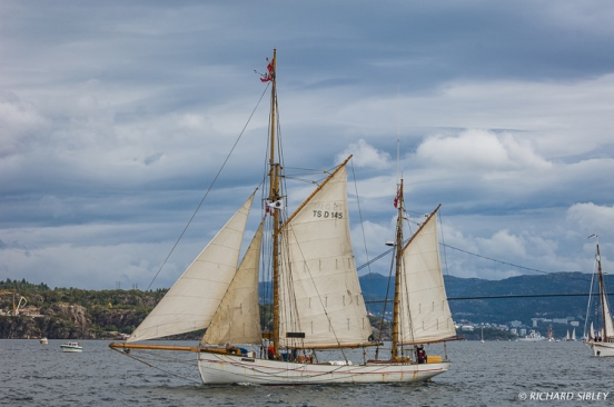 Danish Gaff Ketch, Jens Krogh