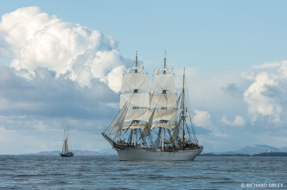 German Schooner Johann Smidt and Norwegian Barque Statraad Lehmkuhl